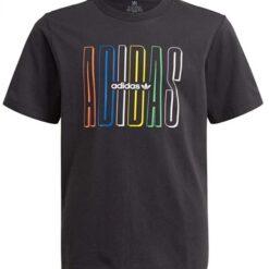 t-shitr_adidas_nero_scritta_multicolor_unisex_ragazzi_bambini