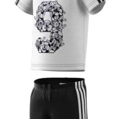 adidas_completo_t-shirt_pantaloncino_bambino_unisex_performance